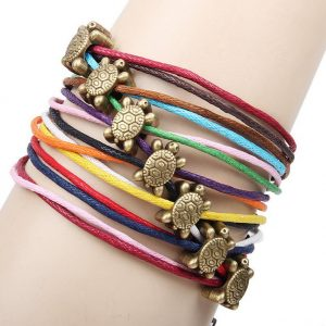 5x-multilayer-woven-font-b-friendship-b-font-candy-colors-small-font-b-turtle-b-font